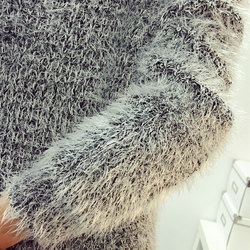 2016 Women Candy Colors Sweaters Fashion Autumn Winter Warm Mohair O-Neck Pullover Long Sleeve Casual Loose Sweater Knitted Tops 6