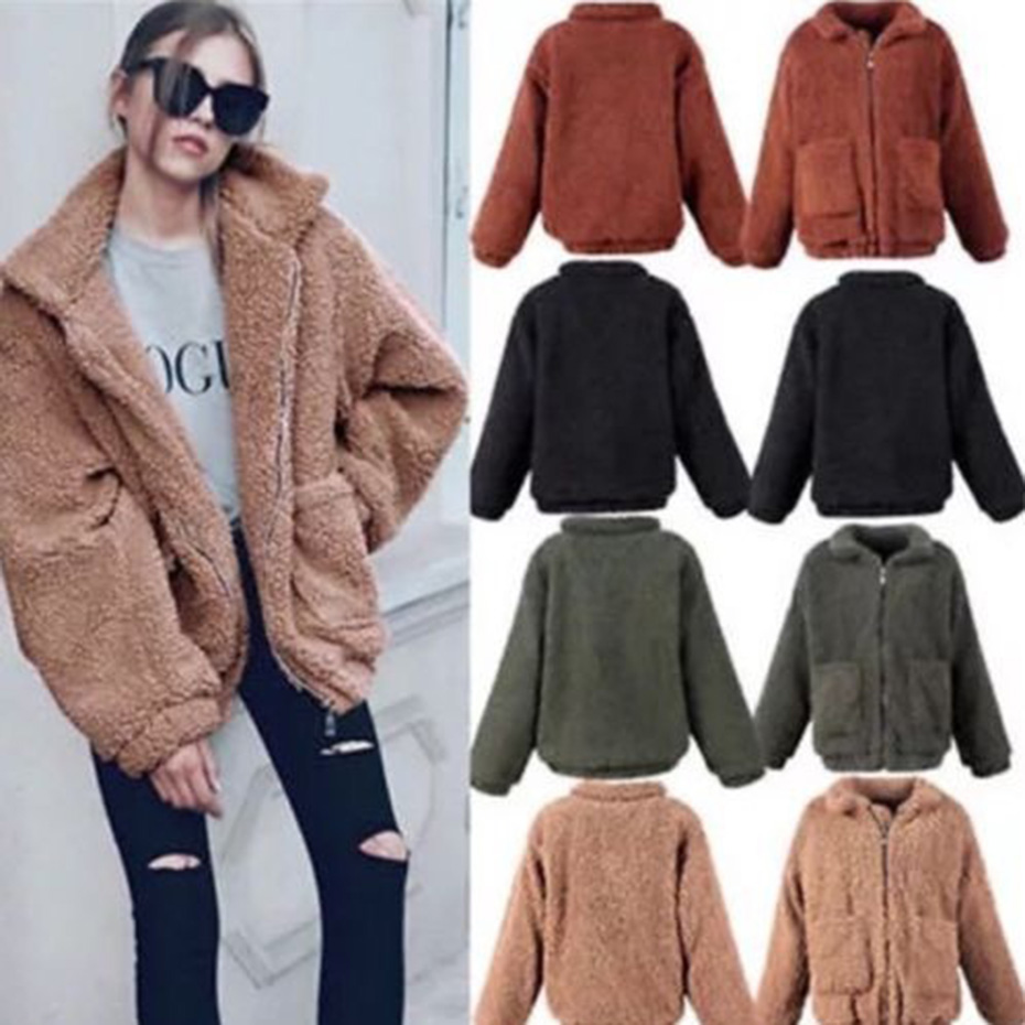ZOGAA Womens Sweaters Teddy Velvet Coat Crewneck Mohair Cardigans Cute Coat Autumn Knitted Sweaters Christmas Turtleneck