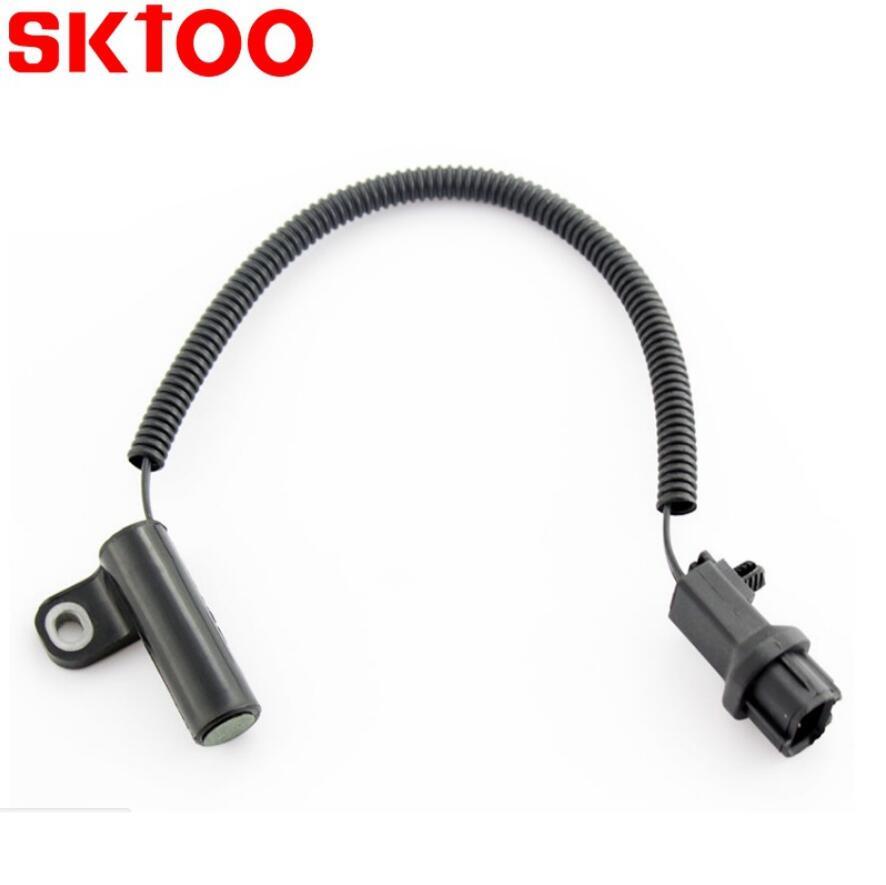 SKTOO Crankshaft Position Sensor For JEEP Wrangler CHEROKEE 56027868 56027868AC 56027865AC 56027868AB AUTO SENSORS in Crankshaft Camshafts Position Sensor from Automobiles Motorcycles
