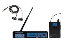 PR80 Pasgao sistema de monitoramento sem fio em fones de ouvido estéreo 655-679 Mhz NOVO