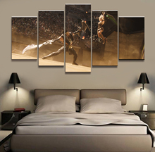 5 Panel Draven/Riven LOL League of Legends Game Canvas Printed Painting For Living Room Wall Art Decor HD Picture Works Poster riven doggeries