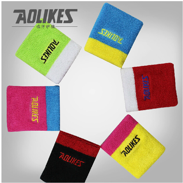 Basketball Sweat Towels: Towels Absorb Sweat Wristbands Cotton Extended Fitness