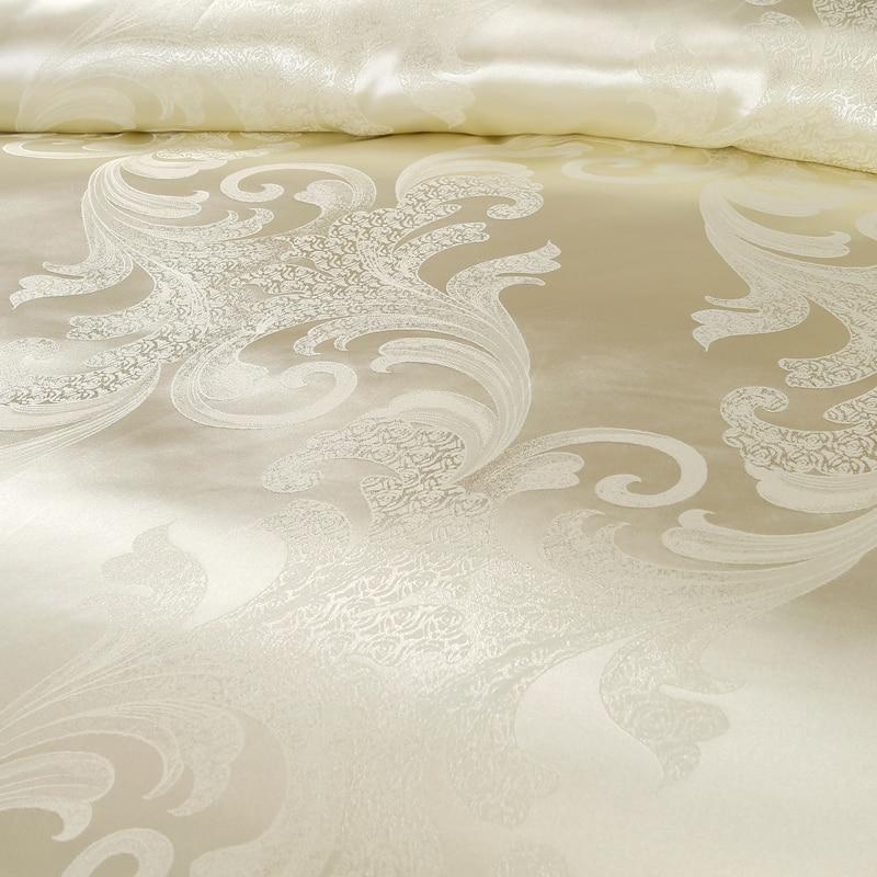Remise Luxe Tribute Satin de soie Jacquard Literie Parure de lit - Textiles de maison - Photo 2
