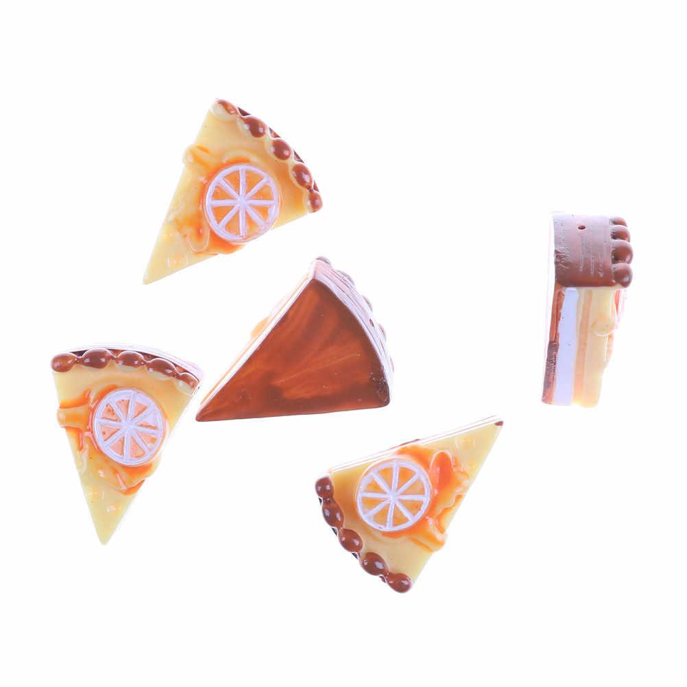 5 sztuk/partia diy do lalek dom kuchnia udawaj zagraj Mini żywności ciasto do pizzy zabawki kuchnia zabawki dla dzieci zabawki edukacyjne dla dzieci