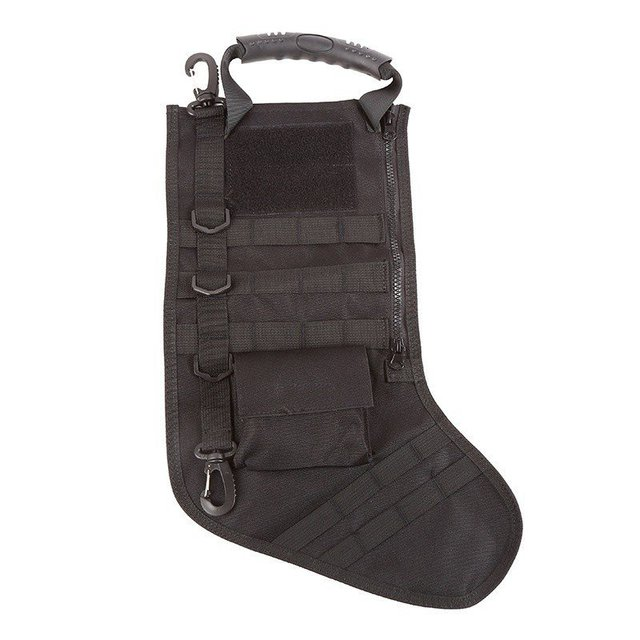 Tactical Molle Christmas Stocking Bag Dump Drop Pouch Utility Storage Bag Military Combat Hunting Christmas Socks Gift Pack