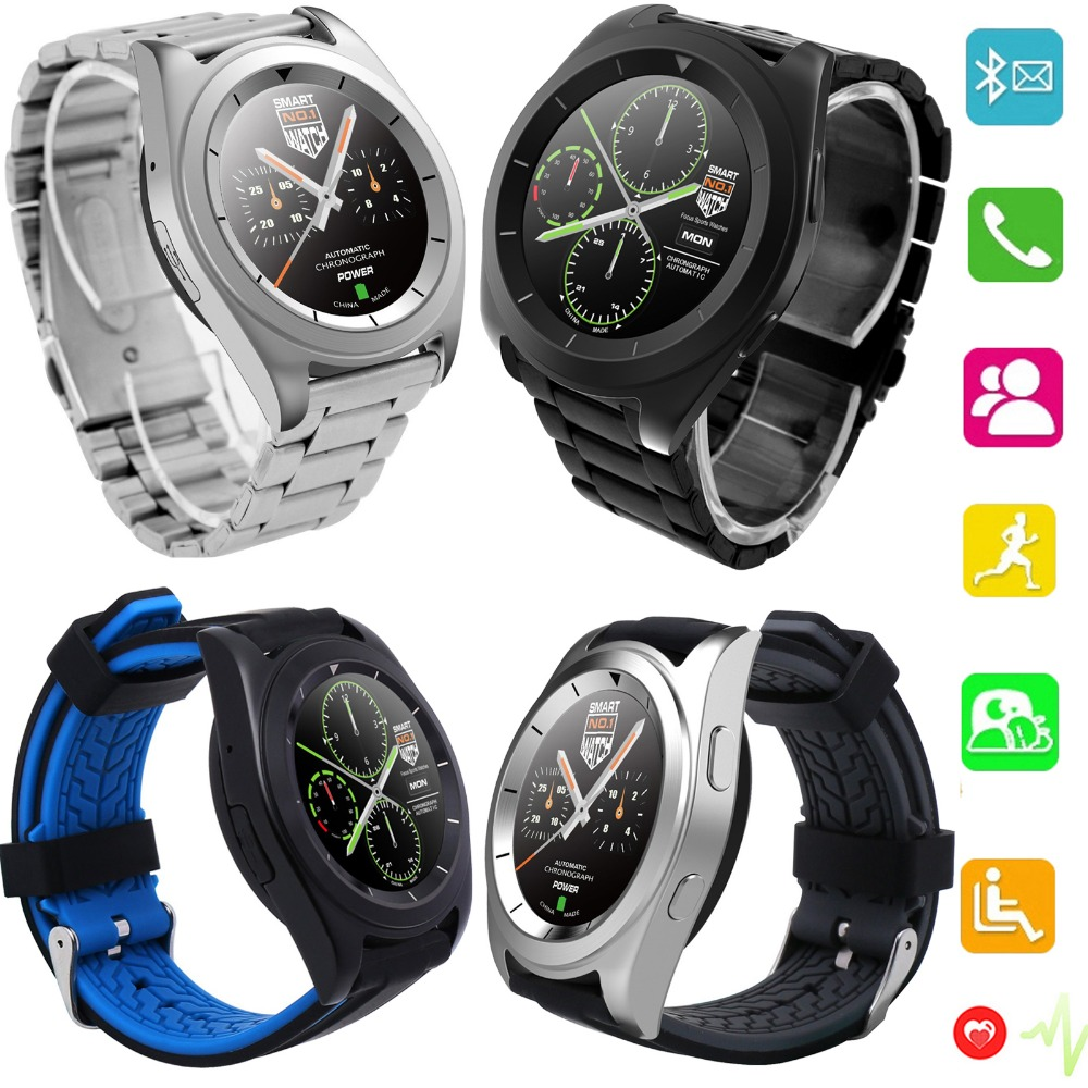 Heart Rate Monitor Screen Touch Bluetooth Wrist Smart Watch For Android IOS iPhone Samsung LG Motorola Huawei HTC Lenovo health monitoring bluetooth sync children s adults smart watch phone for iphone samsung huawei lg htc xiaomi so on smartphone