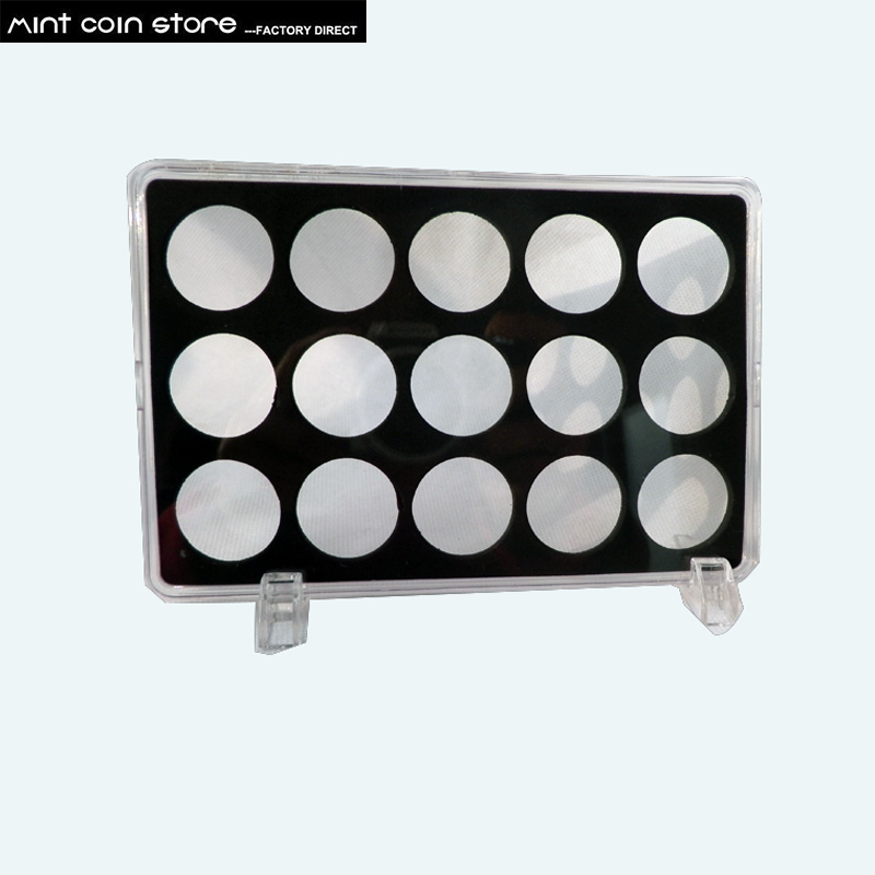 1pcs/lot Empty Box Display Box For Set Coins Display Case
