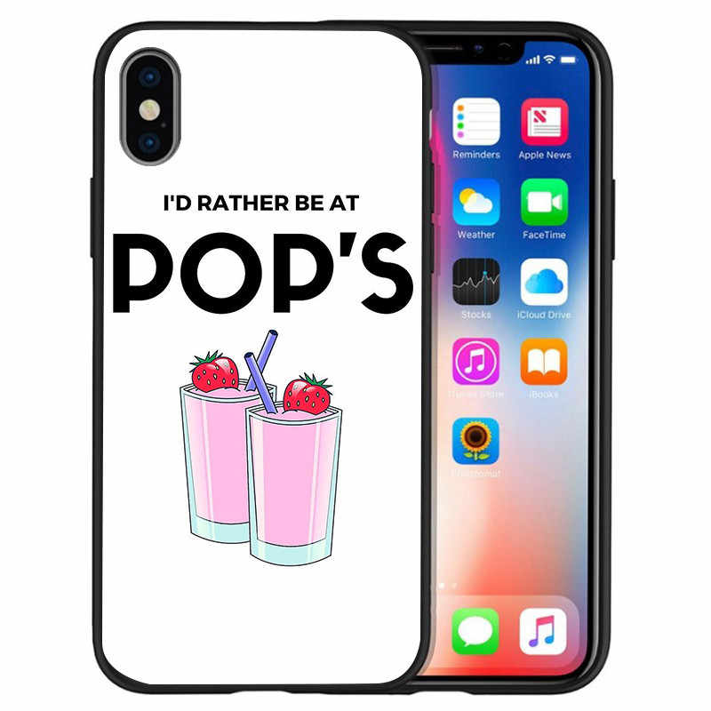 American TV Riverdale Southside Serpents For iPhone X XR XS Max 5 5S SE 6 6S 7 8 Plus phone Case Cover phone Funda Coque Etui