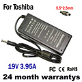19V 3.95A 75W 5.5*2.5mm AC Adapter Battery Charger for Toshiba Satellite L100 L300 L350 L450 L450D L500 L500D L505 L550 L555