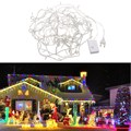 10m 8 Modes 100 Led Light String Warm White Lighting Strings Waterproof String Lights Chain for Wedding Christmas Party Decor