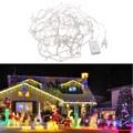 10 m 8 Modos de 100 Led Luz Cordas Warm White Iluminação Cadeia para o Partido Do Casamento Do Natal Cordas Luzes Da Corda À Prova D' Água decoração