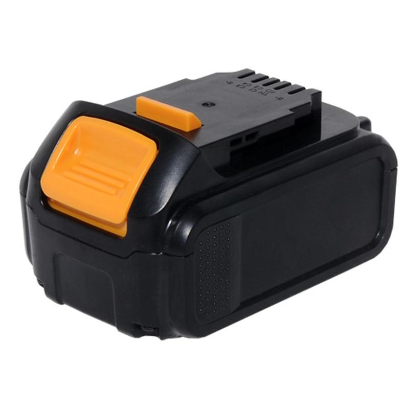 for Dewalt 18V 4000mAh power tool battery DCB204 DCB203 DCB182 DCB201 DCB200 DCB180 DCB181 melasta 20v 4000mah lithiun ion battery charger for dewalt dcb200 dcb204 2 dcb180 dcb181 dcb182 dcb203 dcb201 dcb201 2 dcd740
