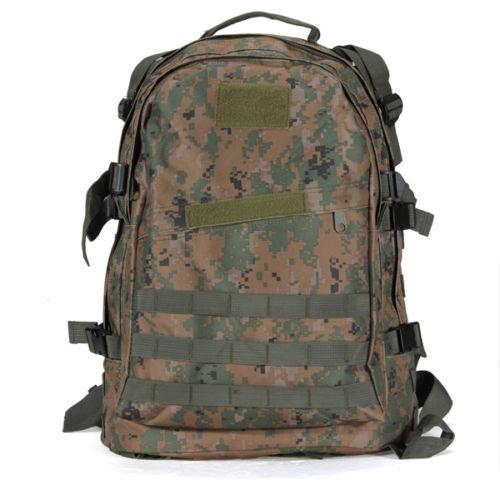 40L 3D  Rucksacks  Backpack Trekking Sporting Bag Jungle Digital