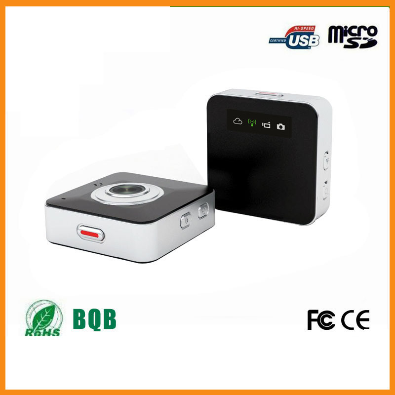 Portable 720P Multi function Wifi Camera Support IOS/Android