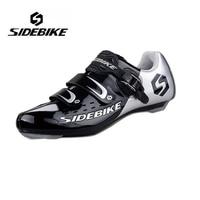 SIDEBIKE Men Women Lightweight Highway Road Bike Cycling Shoes Self Locking Bicycle Racing Athletic Shoes zapatillas de ciclismo
