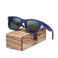 Wayfarer Full - Bambou - Bois bleu - Coffret en bois