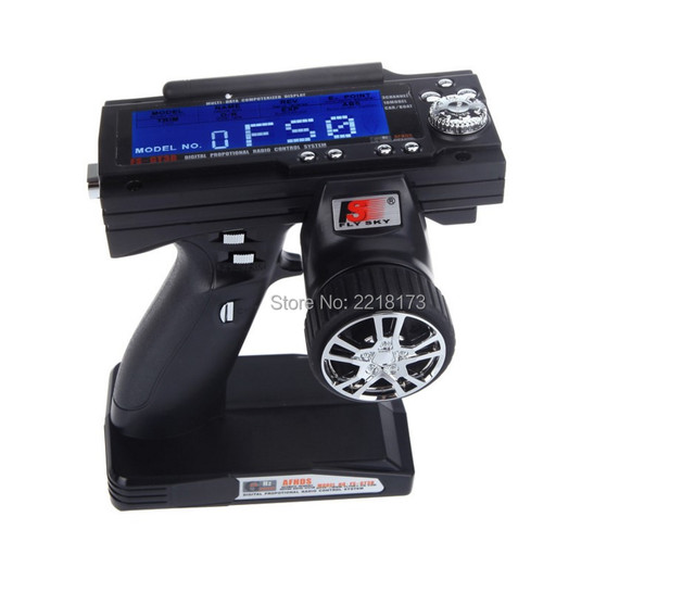 Flysky FS-GT3B FS GT3B 2.4G 3CH Gun RC System Transmitter with Receiver For RC Car Boat with LED Screen