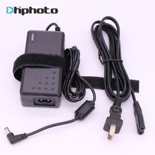 Сокол Средства ухода для век адаптер переменного тока Мощность коммутации Зарядное устройство DC адаптер для DV-160V YONGNUO YN300 III YN360 YN600L YN600 Air светодиодный видео свет