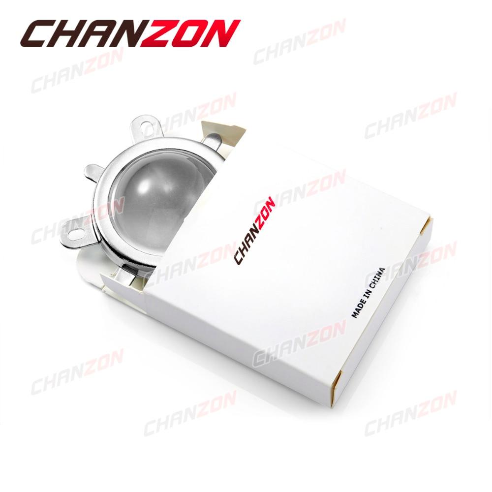 1 juego Cristal óptico de lente LED de 44 mm 60 grados + 50 mm - Instrumentos de medición - foto 5