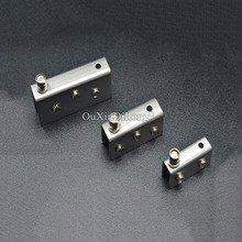 Free Shipping Large Stainless Steel hinge Glass Door Pivot Hinges Clamp Clip For 12mm CP505