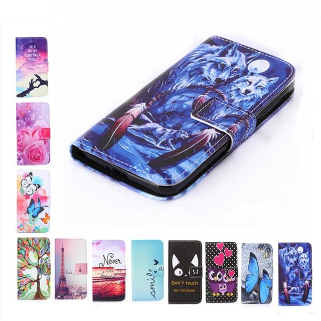 שני צד יוקרה כיסוי טלפון ארנק רוז פרח ציור דפוס מגדל נרתיק עור flip לxiaomi Redmi 4 ראש Pro פתק 4X 4X