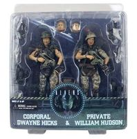 NECA Aliens Corporal Dwayne Hicks & Private William Hudson PVC Action Figure Collectible Model Toys