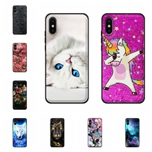 For Apple iPhone X 10 Ten A1865 Case Soft TPU Leather XS A2097 A1920 Cover Animal Patterned Bag