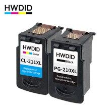 2 шт. pg210 PG 210 CL211 XL картридж для canon pg-210 CL-211 использования для Canon PIXMA ip2700 ip2702 MP240 MP250 mp260 mp270 mx340