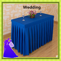 180*45*75cm 5pcs blue and purple rectangle polyester table cloth wedding for sale free shipping