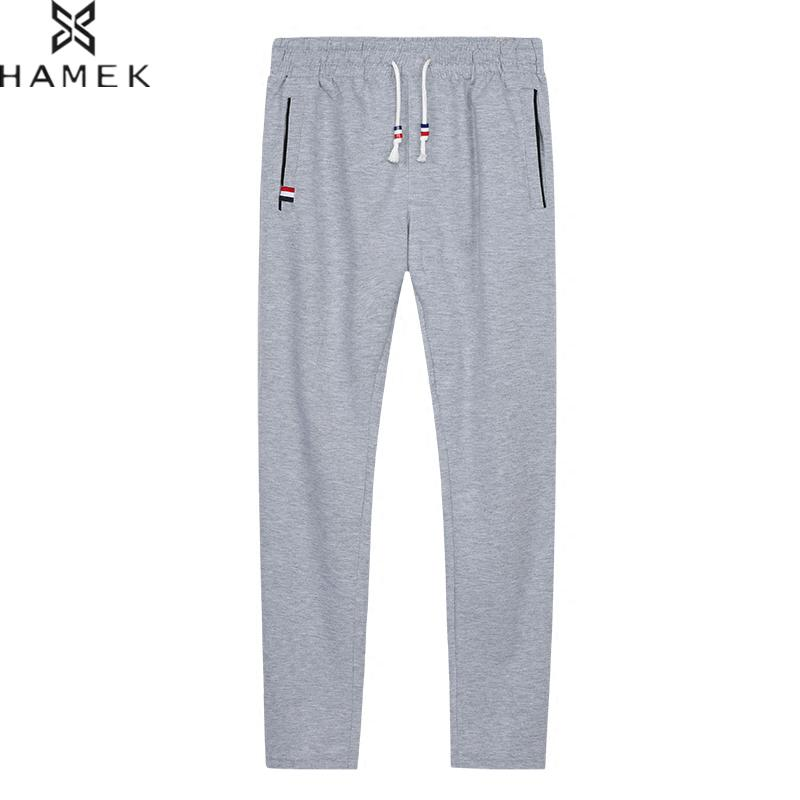 Spring Autumn Men's Sports Running Pants Joggers Loose Straight Cylinder Active Pants Gym Workout Jogging Trousers Plus Size 6XL