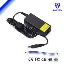 20 V 2A 40 W laptop AC power adapter para LG X110 X120 X130 MSI U100 U115 5.5 mm * 2.5 mm