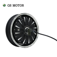 qsmotor 13*3.5inch 1500W 30H V1.12 BLDC Moped In Wheel Motor for electric scooter motorcycle