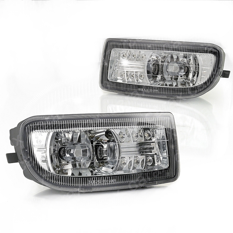 Accessories for Toyota Land Cruiser 100 1998 1999 2000 2001 2002 2003 - 2007 Fog Lights Led Driving Lamps Left & Right Pair Set
