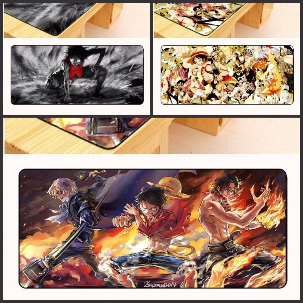 Yuzuoan New One Piece Mouse Pad pad to Mouse Notbook Computer Mousepad Overlock Edge Big Gaming Padmouse Gamer to Laptop Mouse