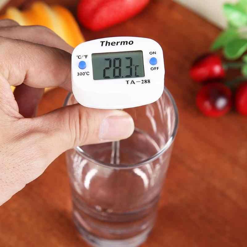 Sonde alimentaire thermomètre électronique numérique BBQ viande cuisson température outil nouveau Durable affichage numérique liquide gril thermomètre