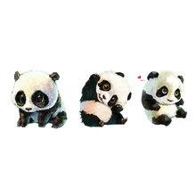Waterproof Temporary Tattoo Stickers Cute Panda Animals Designs Body Art Make Up Tool