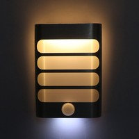 TAIYI Rechargeable Night Light With Motion Sensor LED Wireless Wall Lamp Night Auto On Off For