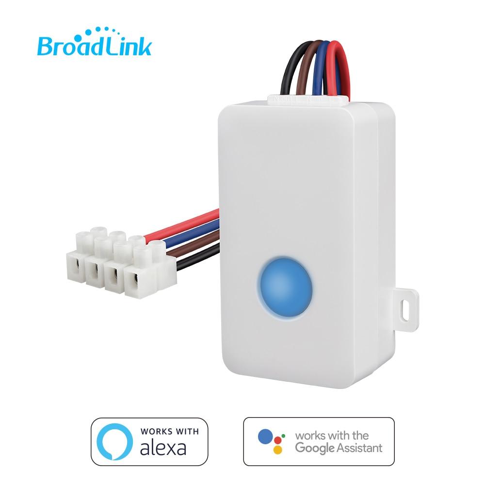 Controlador Broadlink SC1 WIFI interruptor inteligente de Control remoto temporizador relé inalámbrico Compatible con Alexa Asistente de Google por Android IOS APP Control