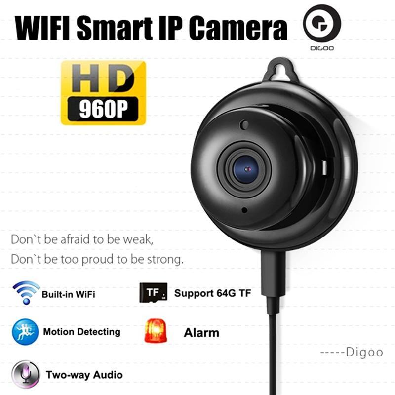 DIGOO DG-M1Q M1Q 960P 2 8mm Wireless Mini WIFI Night Vision Smart Home  Security IP Camera Onvif Monitor Baby Monitor