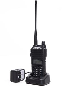 Image 4 - Baofeng UV 82 walkie talkie 10km dual PTT two way wireless dual band handheld portable UV 82 transceiver