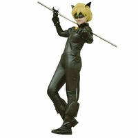 Miraculous Ladybug Costume Cat Noir With Mask Ladybug Cat Cosplay Costume With Mask And Ear
