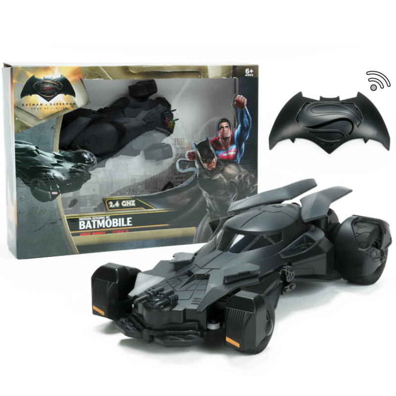 (with Box) Batman Remote Radio Control Motion-Sensing RC Car Battery Operated 4wd Toys For Boys