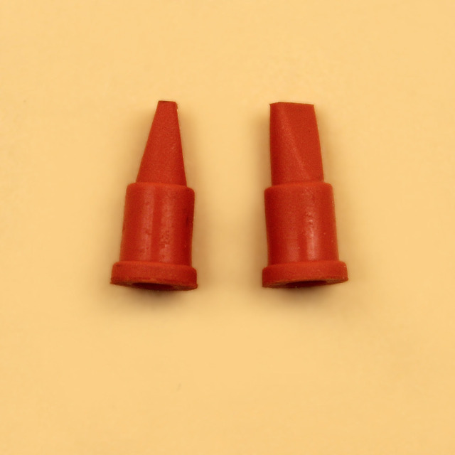 2Pcs/lot Fuel Oil Tank Vent Breather Rubber Plug For STIHL MS180 MS170 018 017 Chainsaw Parts