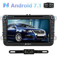 Android 7 1 2GB RAM 8 Inch 2 Din Car DVD Player Quad Core Radio For