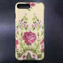 Для iPhone 7/плюс 7 Plus модные кожаные сухоцветы телефон Обложка чехол пчелы цветок случае Высококачественный чехол телефона