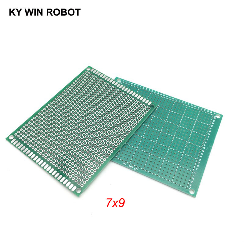 5pcs 7x9cm 70x90 Mm Single Side Prototype PCB Universal Printed Circuit Board Protoboard For Arduino