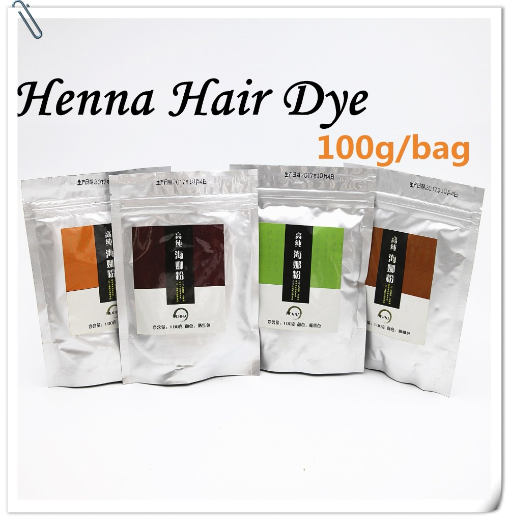 Pure Henna Hair Dye Powder (3.5 Oz *2)   All Natural, High Pigment Color for Hair, Root Touch Up, Beard & Eyebrows 100g&200Gram