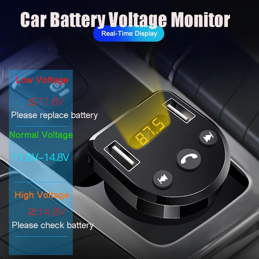 E0239 Bluetooth Car fm Modulator (9)