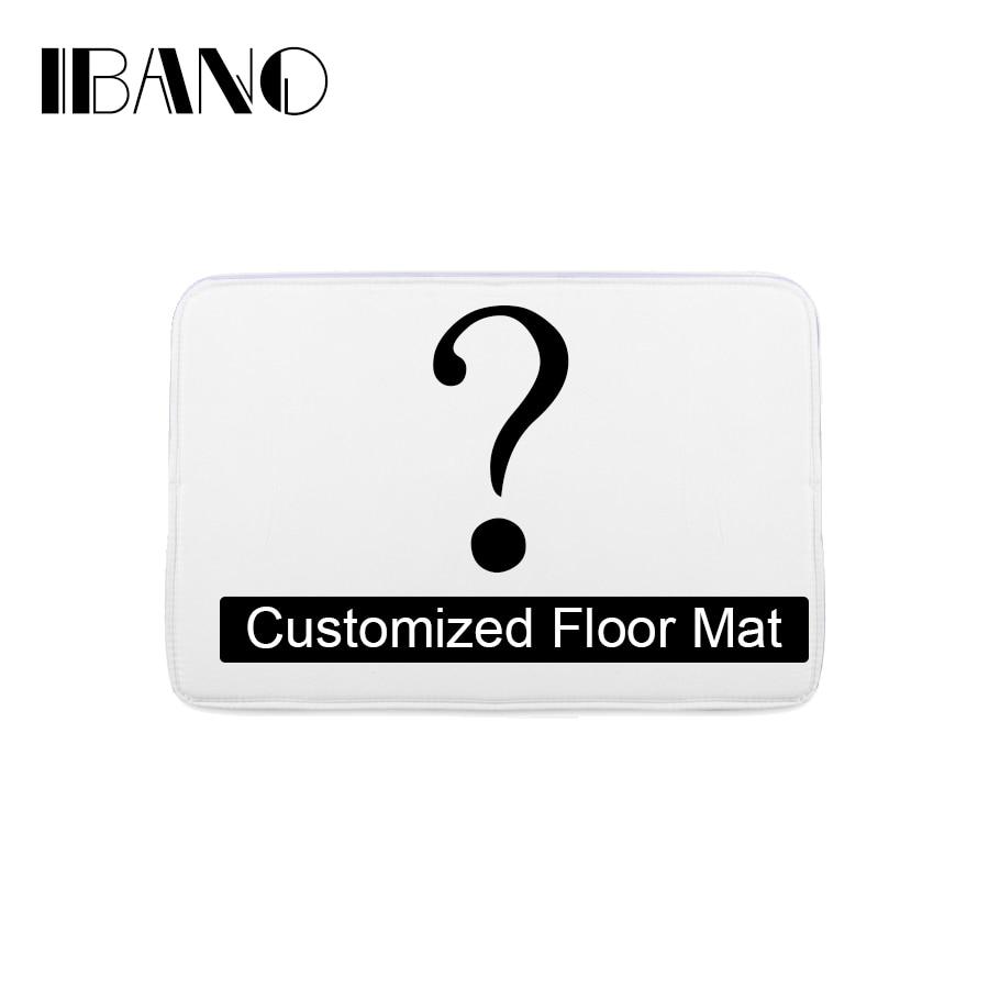 Bathroom Customized Mat Printed Bathroom Kitchen Carpets Doormats Floor Mat for Living Room Anti Slip Tapete