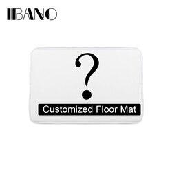 Bathroom Customized Mat Printed Bathroom Kitchen Carpets Doormats Floor Mat for Living Room Anti-Slip Tapete
